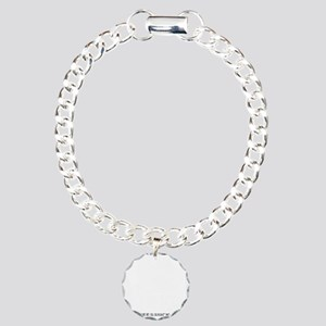 EARNED NOT GIVEN - BLACK Charm Bracelet, One Charm