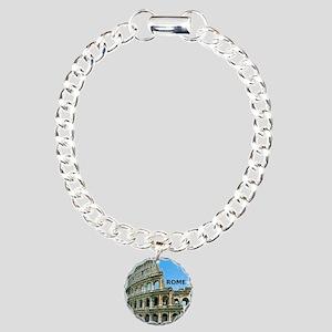 Rome_12x12_v2_Colosseum Charm Bracelet, One Charm