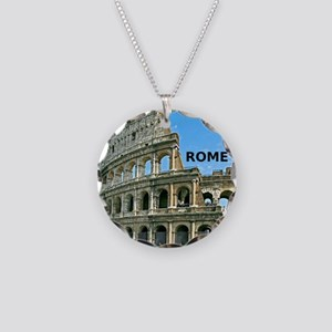 Rome_12x12_v2_Colosseum Necklace Circle Charm