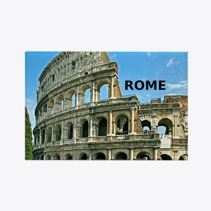 Rome_12x12_v2_Colosseum Rectangle Magnet