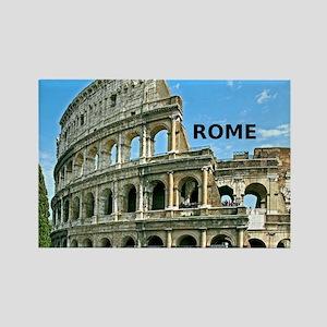 Rome_12x12_v2_Colosseum Rectangle Magnet