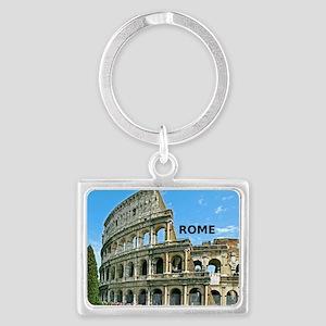 Rome_12x12_v2_Colosseum Landscape Keychain