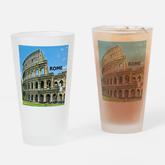 Rome_12x12_v2_Colosseum Drinking Glass