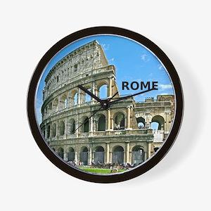 Rome_12x12_v2_Colosseum Wall Clock