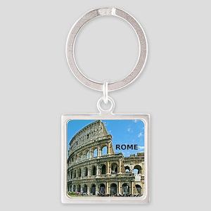 Rome_12x12_v2_Colosseum Square Keychain