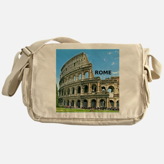 Rome_12x12_v2_Colosseum Messenger Bag