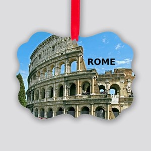 Rome_12x12_v2_Colosseum Picture Ornament
