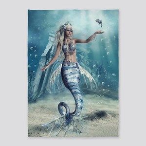Fantasy Mermaid 5'x7'Area Rug