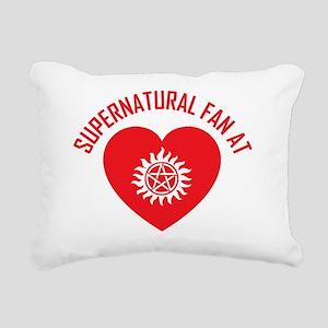 8 Supernatural Fan CP Rectangular Canvas Pillow