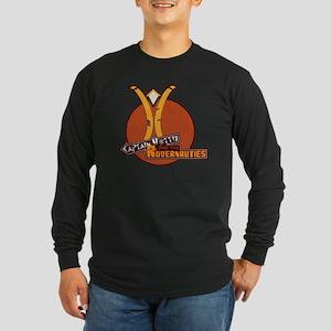 Captain Hottie & The Rove Long Sleeve Dark T-Shirt