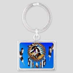 Yard Sign-Spiritual Horse Landscape Keychain