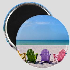 Summer Beach Magnet
