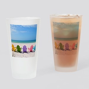 Summer Beach Drinking Glass