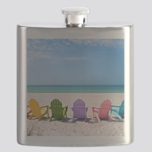 Summer Beach Flask