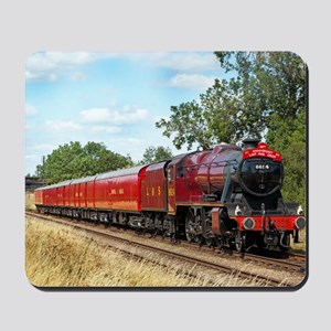 Vintage Steam Engine Mousepad