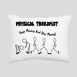 Physical Therapist Rectangular Canvas Pillow