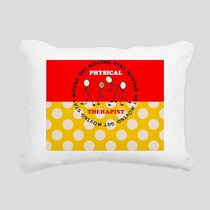 Physical Therapist pillo Rectangular Canvas Pillow