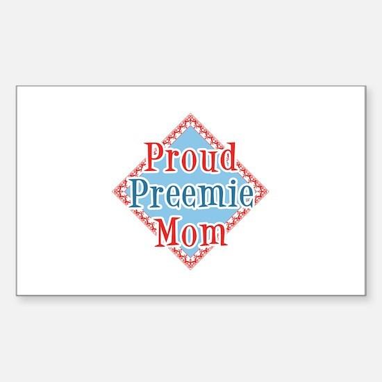 Proud Preemie Rectangle Decal