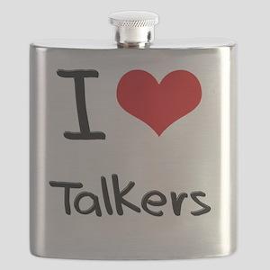 I love Talkers Flask