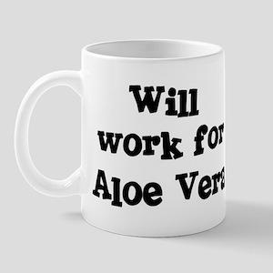 Will work for Aloe Vera Mug