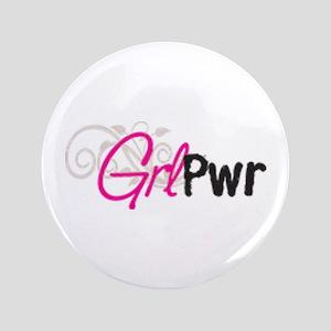 """GRL-PWR Large Logo 3.5"""" Button"""