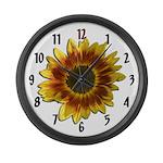 Sunflower Large Wall Clock