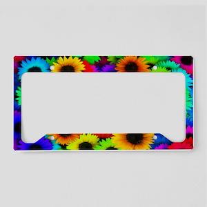 Sunflowers SB License Plate Holder