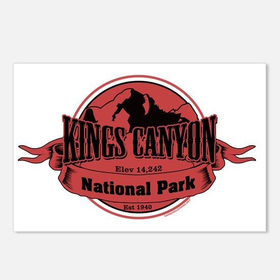 kings canyon 3 Postcards (Package of 8)