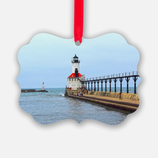 Michigan City Lighthouse Ornament
