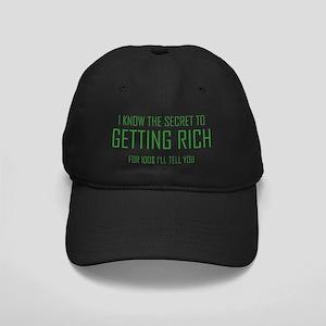 SecretGettingRich1C Black Cap