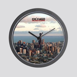 chicago music guide frameless  #3 Wall Clock