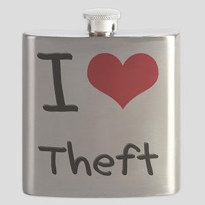 I love Theft Flask