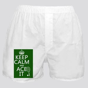 Keep Calm and Ace It Boxer Shorts