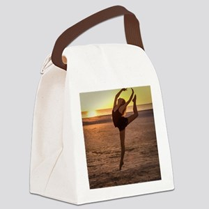 Ballet on the Beach Canvas Lunch Bag