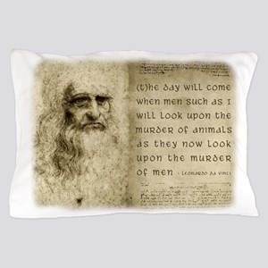 Da Vinci Quote Pillow Case