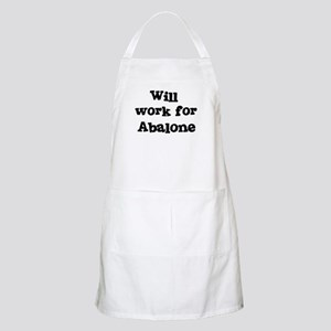 Will work for Abalone BBQ Apron