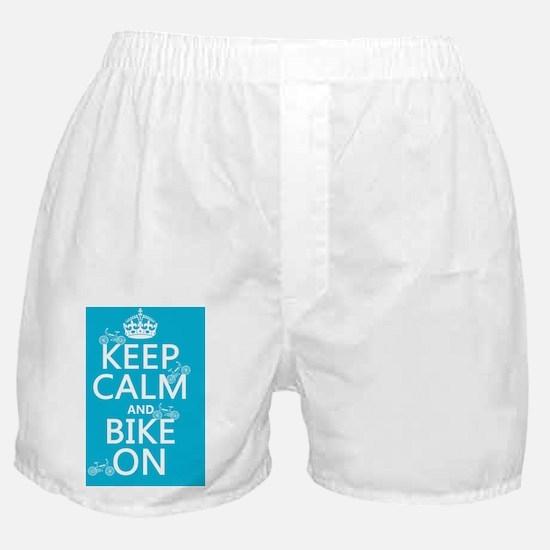 Bike On Boxer Shorts