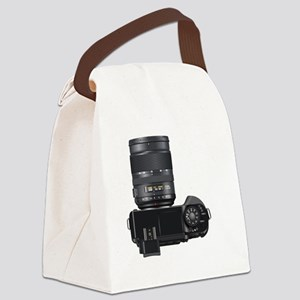 DSLR Camera Canvas Lunch Bag