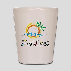 Maldives Shot Glass