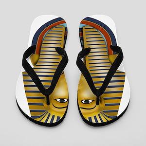 Egyptian King Tut Flip Flops