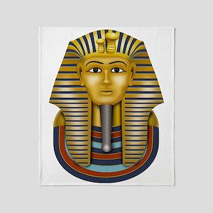 Egyptian King Tut Throw Blanket