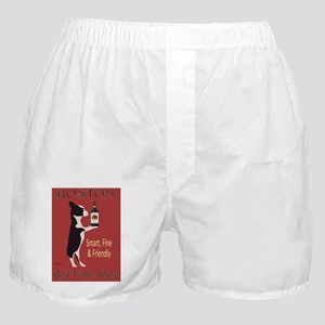 Boston Red Table Wine Boxer Shorts