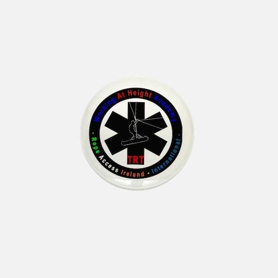 WAH and RAI Logo Mini Button