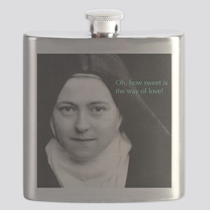 Saint Theresa of Lisieux The Way of Love Flask
