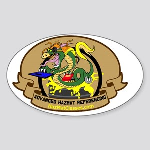 Advanced Referencing Logo Sticker (Oval)
