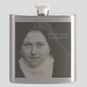 Saint Theresa of the Little Flower Flask