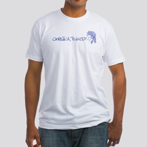 Corsica Island Fitted T-Shirt