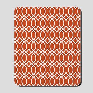 Ogee Links 5x7 White Pumpkin Mousepad
