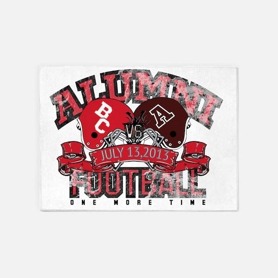 Boyd County Alumni Football Game ON 5'x7'Area Rug