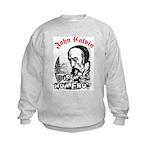 John Calvin: troublemaker Kids Sweatshirt